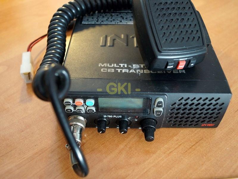 Cb Radio Intek M 760 Plus Zielone Podswietlenie 7688963392 Oficjalne Archiwum Allegro