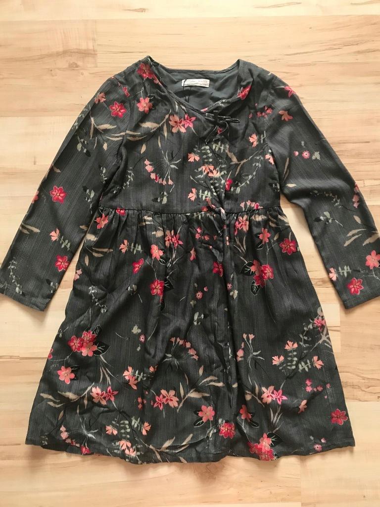 ZARA tunika sukienka kopertowa 152