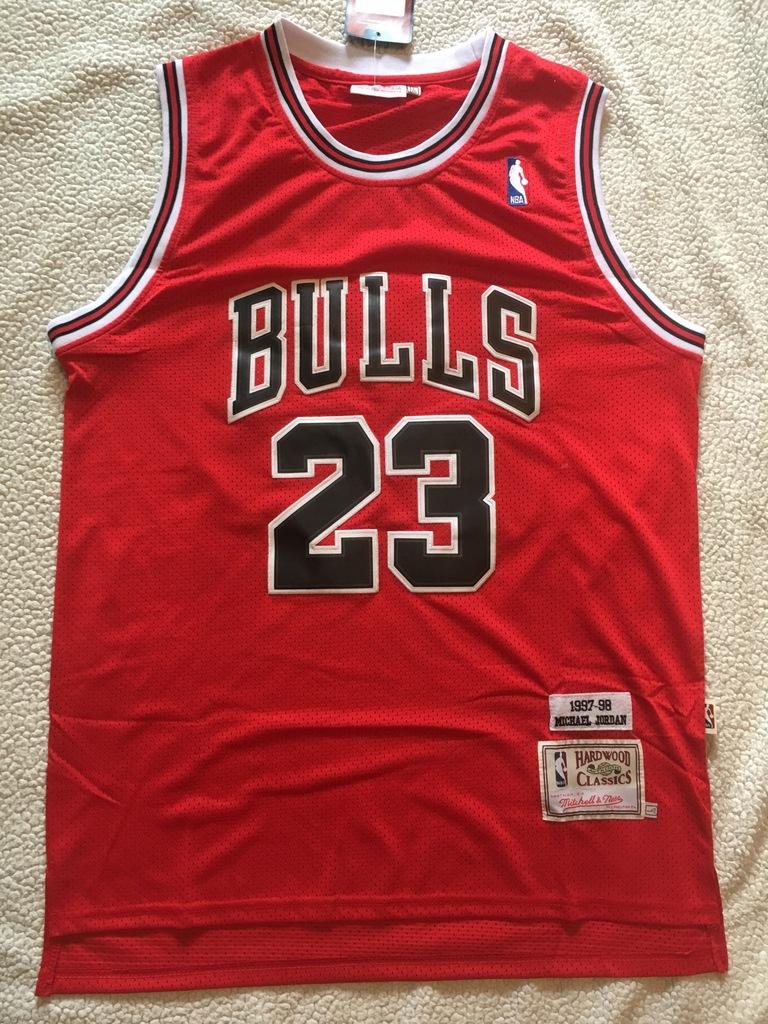 Koszulka air jordan 23 l nba chicago bulls nike Galeria