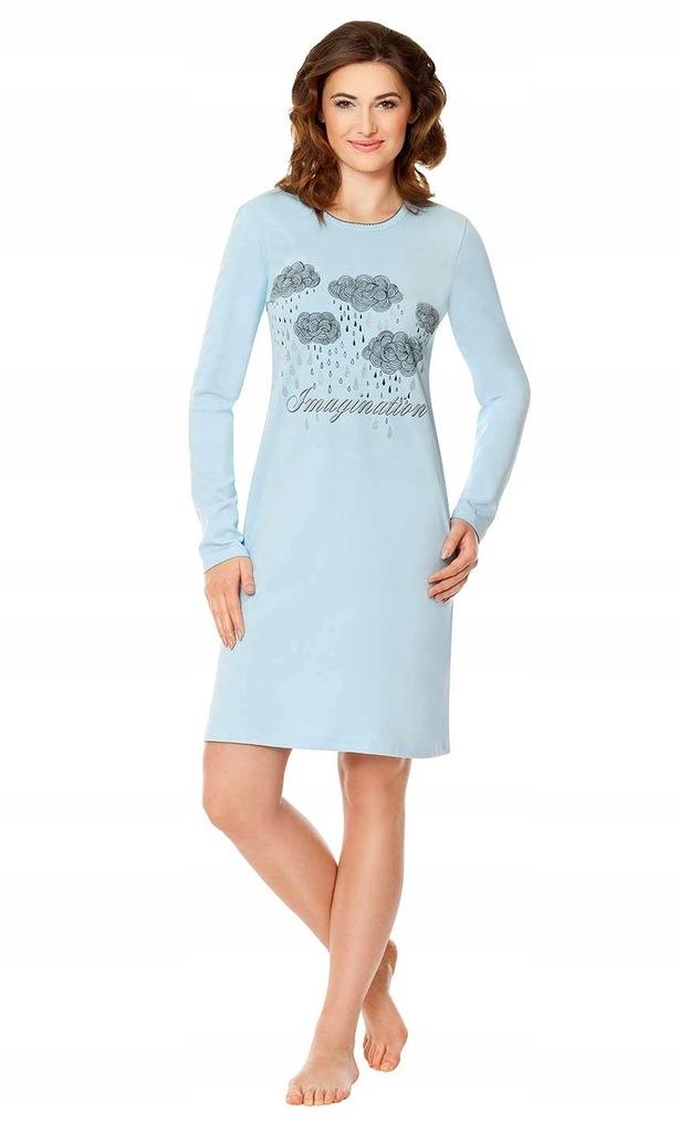 WADIMA koszula damska 104344 r.S błękit