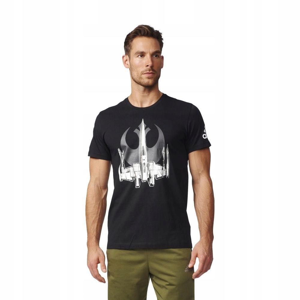 Koszulka adidas X-Wing BK2840 XL czarny