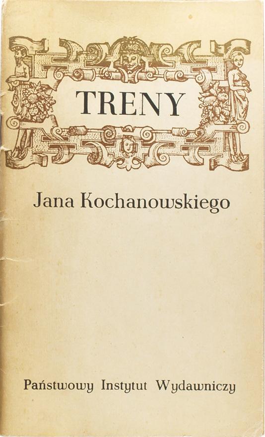 TRENY, Jan Kochanowski - 7359612355 - oficjalne archiwum Allegro
