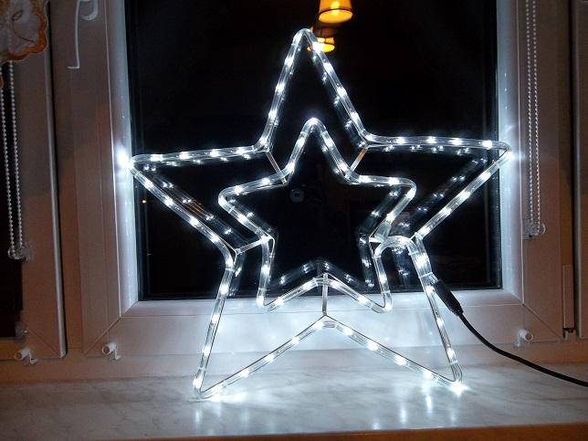 Gwiazdka Led Ozdoba Do Okna Swiecaca Lampki Gwiazd 7036910651 Oficjalne Archiwum Allegro