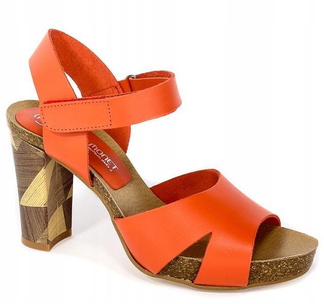 Sandały Pilar Monet 22160 Sadalia Bio Tacon r.40