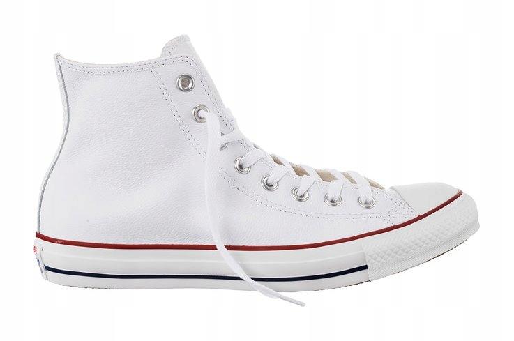Białe Skórzane Buty Trampki Converse r.39