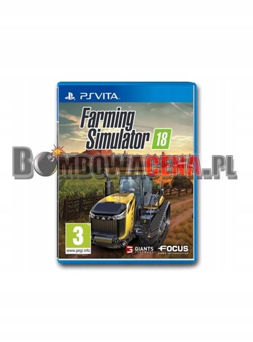 Farming Simulator 18 [PS Vita] symulator farmy