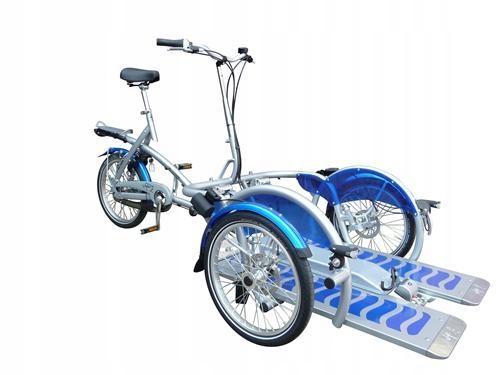 rower z wózkiem rehabilitacyjny riksza