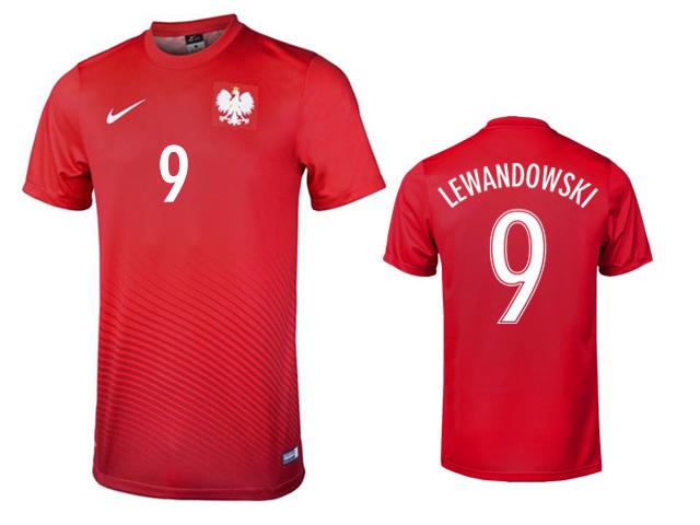 KOSZULKA NIKE POLSKA LEWANDOWSKI EURO 2016 XXL