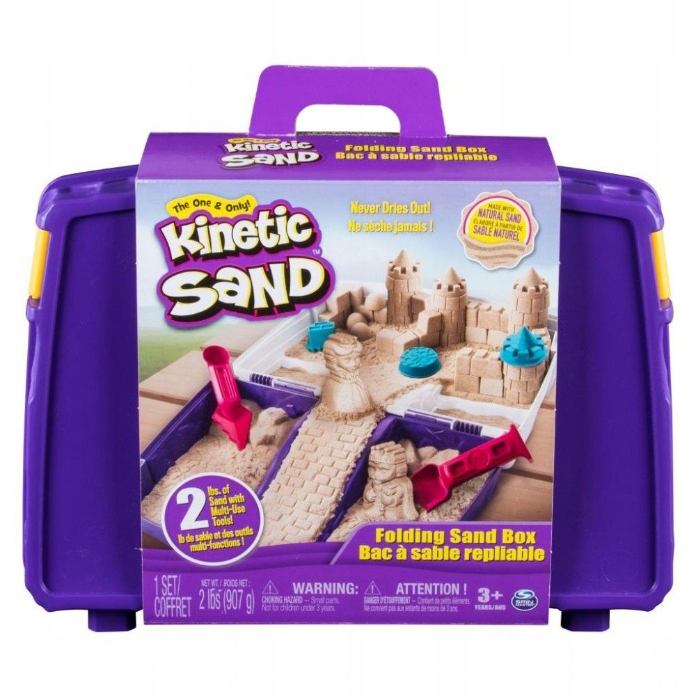 Spin Master Piasek Kinetyczny Kinetic Sand Zabawa 7607793927 Oficjalne Archiwum Allegro