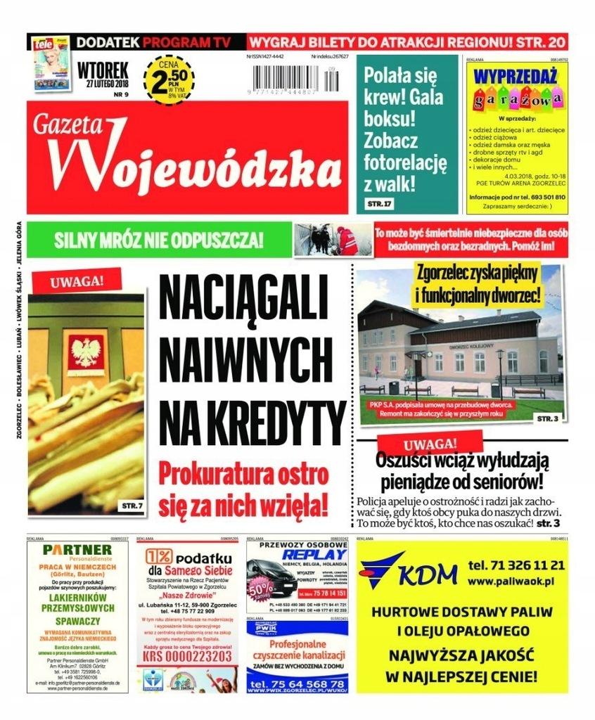 Gazeta Wojewodzka 9 2018 Eprasa Pdf 7653203585 Oficjalne Archiwum Allegro