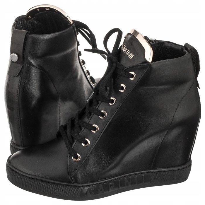 Buty Damskie Sneakersy Botki Carinii B4078 Czarne 7724295827 Oficjalne Archiwum Allegro