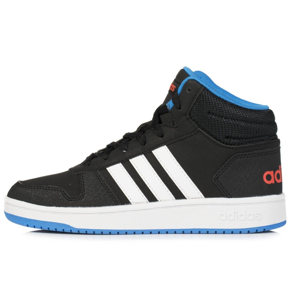 Buty dziecięce adidas Hoops Mid DB1479 r 35 12