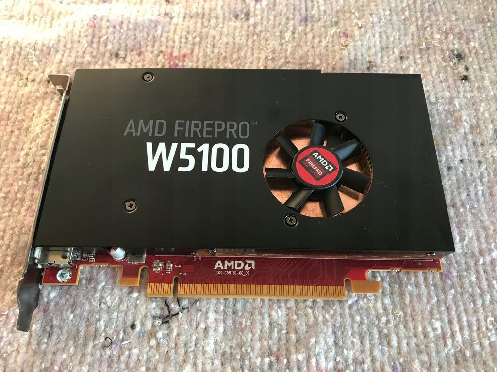 Karta graficzna AMD FirePro W5100 4GB Workstation