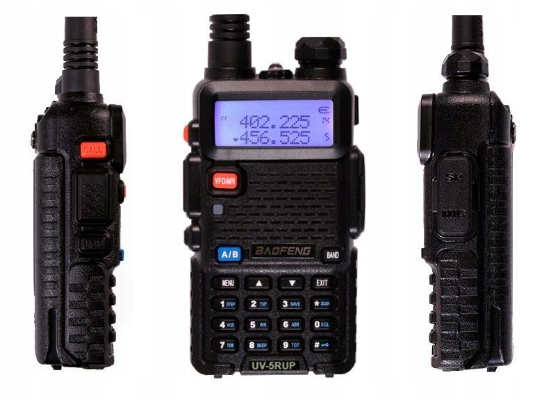 Radiotelefon BAOFENG UV-5R UP 2M/70CM 8W Mocy