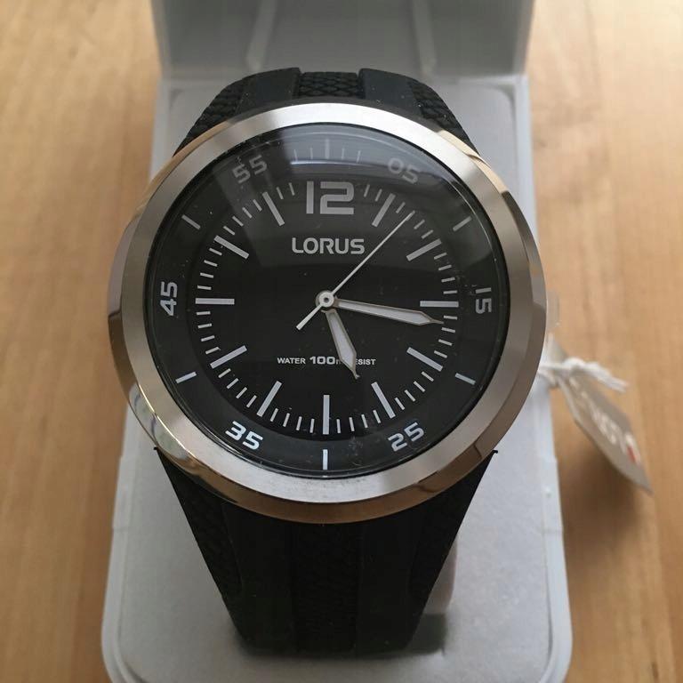 zegarek Lorus rr 17ex-9 czarny