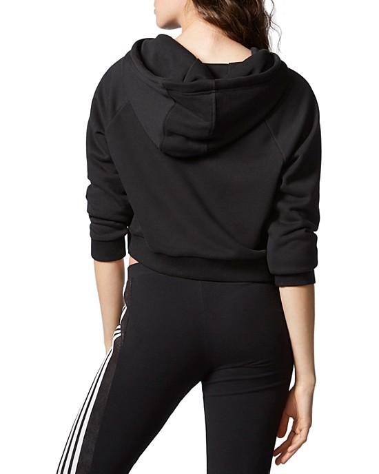 Bluza Damska adidas CROP Trefoil AY8131 S