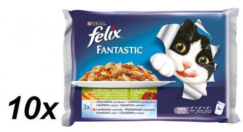 Felix saszetki dla kota FELIX multipack - ryby