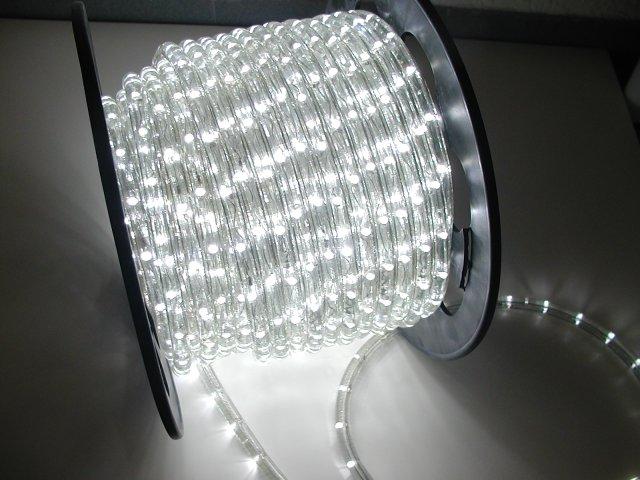 Wąż świetlny 30 M Led Lampki Biały Zimny Mocny 7098008820 Oficjalne Archiwum Allegro