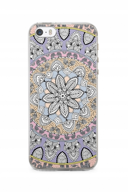 iPhone Case etui Tapestry iPhone 5SE Blue