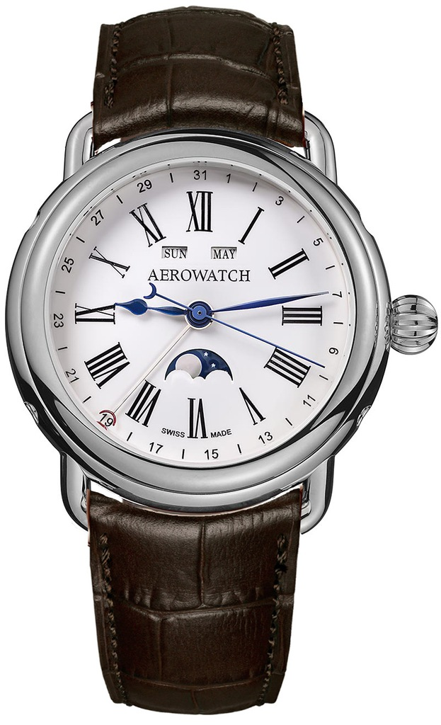 Aerowatch 1942 Moon Phases 75970 AA01
