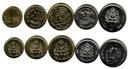 MAROKO zestaw 5 monet