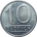Moneta 10 zł złotych 1985 r ładne