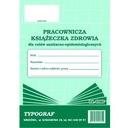 Pracownicza ksiązeczka zdrowia  A6 sanepidowska