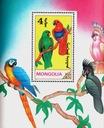 MONGOLIA. Blok 155 ** - Papugi, ładne i tanio!