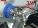 Kran 3/4 MOCNY Zbiornik 1000L IBC Zawór AdBlue