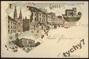 Liegnitz - Legnica - 1898 - Litografia