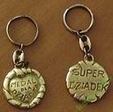 medal dla babci Super Dziadek brelok (1)