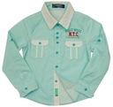 KAKO~NOWA koszula HOLLY WEEK 4 - 110/116 GREEN
