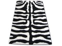 DYWAN SHAGGY LONG ZENA 120x170 3964 zebra #AT155