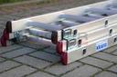 Drabina aluminiowa 3x8 KRAUSE CORDA 5,40m 030382 Informacje dodatkowe hak w zestawie