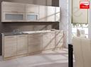 Meble kuchenne kuchnia SAHARA 2,6m MDF dąb sonoma