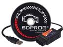 Interfejs diagnostyczny OBDII ELM327 USB PL SDPROG