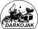 Deflektor motocyklowy szyba owiewka DARKOJAK Producent części Inny