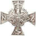 Przypinka Krzyża Narodowych Sił Zbrojnych
