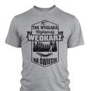koszulka dla WĘDKARZA imię - Prezent dla TATY XLm