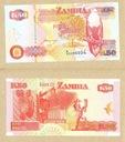 ZAMBIA 50 KWACHA 1992 r. UNC