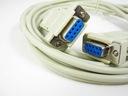 kabel przewód null modem d-sub 9pin rs232 3,0m DB9