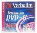 Verbatim DVD-R DL Mini 8CM 2,6GB 55min 5szt Kamera
