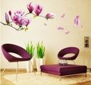 Naklejki ścienne na ścianę kwiaty MAGNOLIE pokój