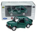 FIAT 126 p MODEL METALOWY WELLY 1:21 MALUCH ZIELON