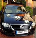 1.Dekoracja samochodu na samochód weselny PROMOCJA