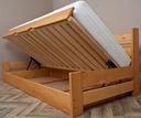 INNOWATOR 90x200 łóżko z oparciem NA KAŻDY WYMIAR