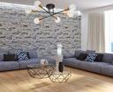 LAMPA SUFITOWA LOFT DESIGN VEKEN 6 LED od EMIBIG Zasilanie sieciowe