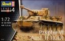 Модель 1:72 Revell Танк Tiger Ausf. H (03262) доставка товаров из Польши и Allegro на русском
