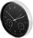 часы настенный БОЛЬШОЙ, 30СМ ТИХИЙ современный термометр