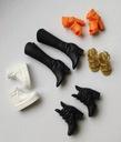 Mattel BARBIE -Modne BUTY dla lalki 5 par jesienne Seria Inny
